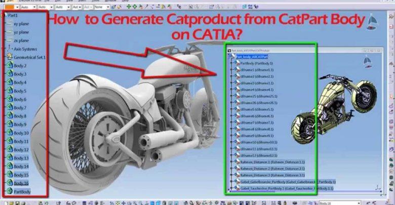 CATPart Dosyalarını CATProduct Dosyasına Çevirme Makrosu