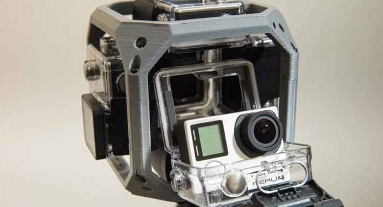 GoPro 360 Video 3D STL CATIA modeli
