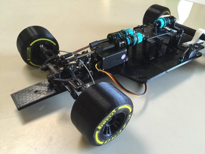 OpenRc F1 3D STL CATIA Modeli