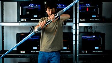3D Lazer Kılıcı STL Modeli CATIA