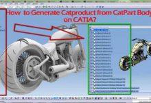 CATIA Part Modeli CATIA Producta Cevirme