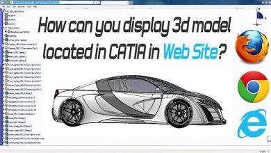 CATIA Web 3D