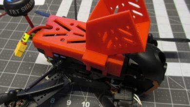 Drone için gopro kamera stl modeli