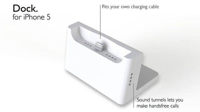Iphone 5/5S İçin Masa Docku