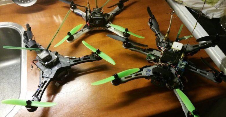 Yarış İçin Tasarlanmış Quad ve Hexacopter Modeli